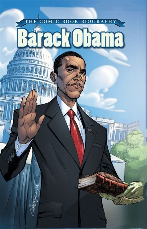true biography of barack obama barack obama the comic book biography new edition