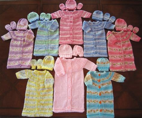 Free Sleepers by Sea Trail Grandmas Modele Au Tricot D Une Layette Pour