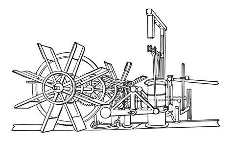 imagenes de un barco para colorear dibujo para colorear m 225 quina de barco de vapor img 29607