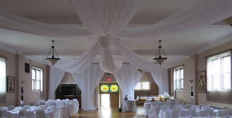 ceiling draping rental wedding ceiling draping rental photos