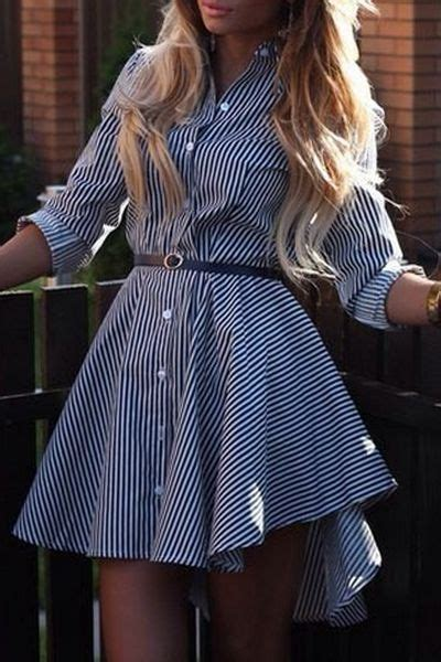 Dovetail Dress Blue Import striped single breasted dovetail dress striped shirts single breasted and dress blues