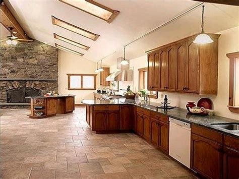bloombety beautiful large kitchen floor tile colors