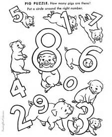 color printables for preschool number coloring pages for preschoolers az coloring pages