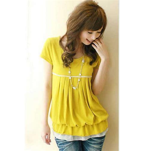 Ds3454 Dress Yellow Murah baju studio design gallery photo