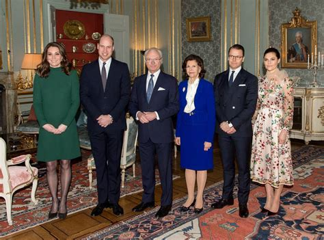 kate and william meet swedish royal couple s adorable it s a royal reunion kate middleton and prince william
