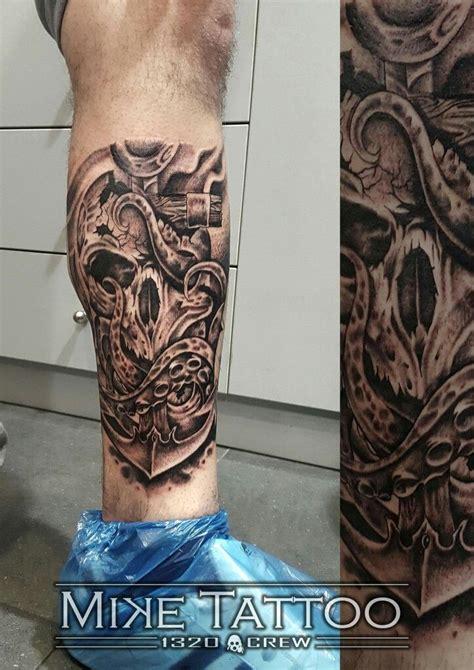 skull octopus tattoo skull octopus anchor mytattoo