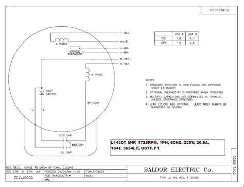 baldor motor wiring diagram 1 phase hp indexnewspaper com