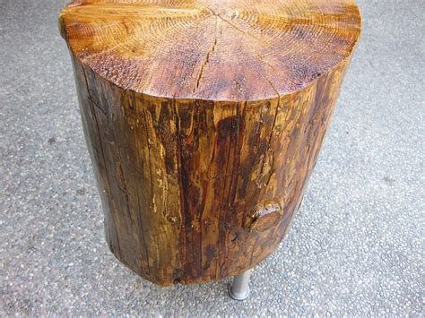how to build tree stump table home decorations