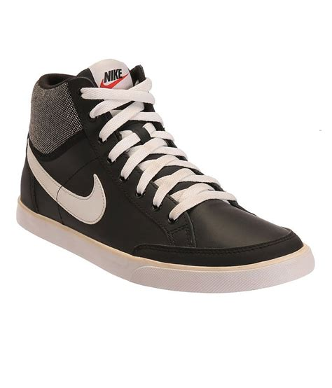 nike iii black and white casual shoes price in india