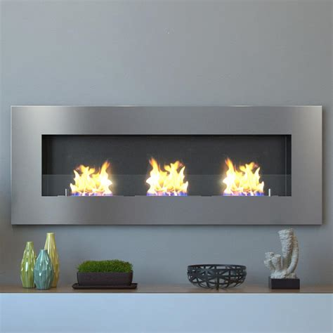 moda flame hudson 59 in recessed wall mounted ethanol