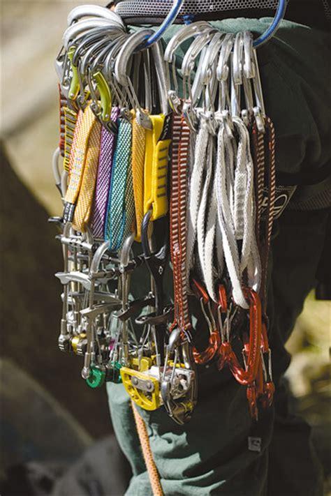 Climbing Rack by Ukc Articles Buying A Rack Of Climbing Gear