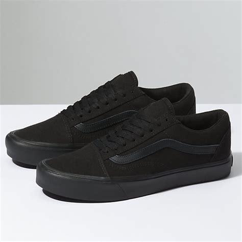 Sepatu Vans Oldskul Black skool lite shop shoes at vans