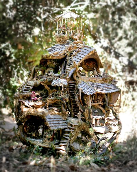 fairy homes the fairy treehouse beautiful architectural wonder exhibited