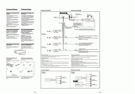 es sony xplod wiring diagram wiring automotive wiring