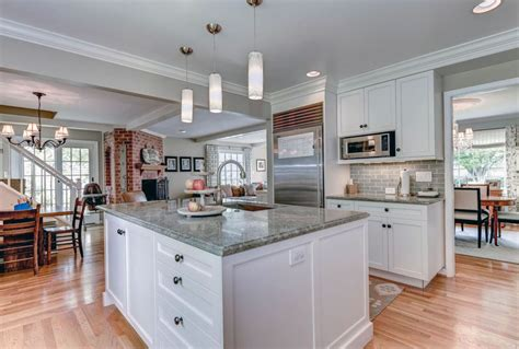 white kitchen cabinets gray granite countertops 30 gray and white kitchen ideas designing idea