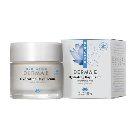 Dermae Hyaluronic Acid Creme derma e hydrating day with hyaluronic