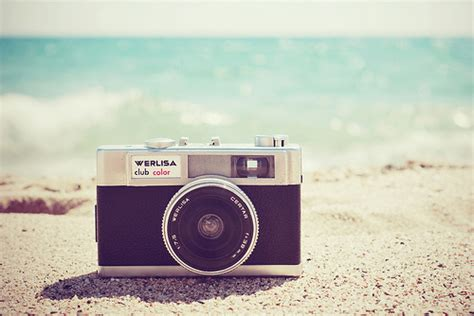 vintage camera wallpaper tumblr inspira 231 227 o fotos na praia overdose teen
