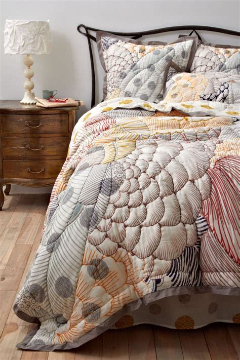 anthropology bed arrosa quilt anthropologie com for the home pinterest
