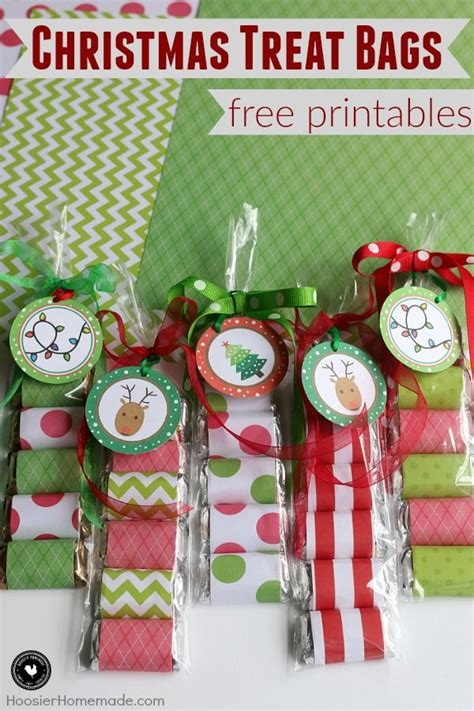 create these easy christmas treat bags in minutes perfect