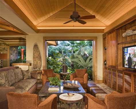 Kitchen Remodling Ideas media room tropical family room hawaii by saint