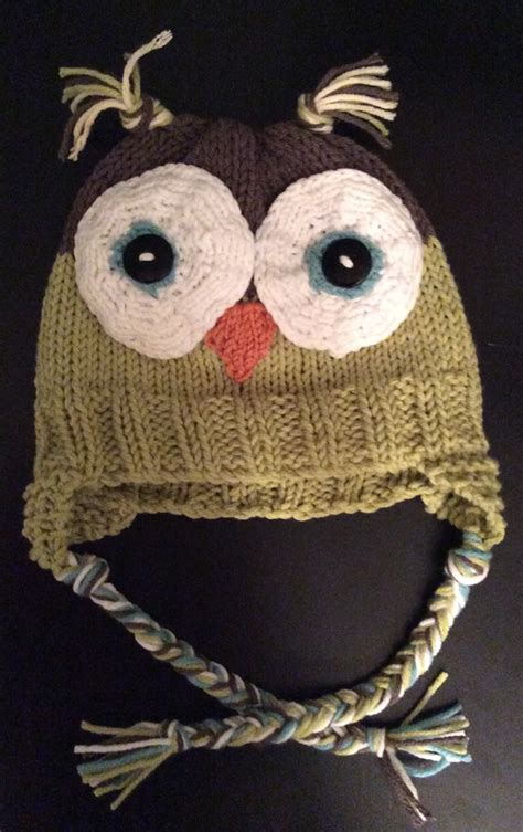 how to knit a owl owl baby hat 171 kb looms