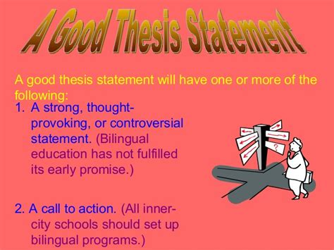 thesis statement about bilingual education writing extended definition paper2