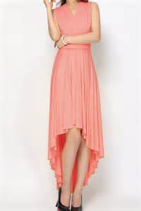 light coral high low infinity dresses bridesmaid dresses