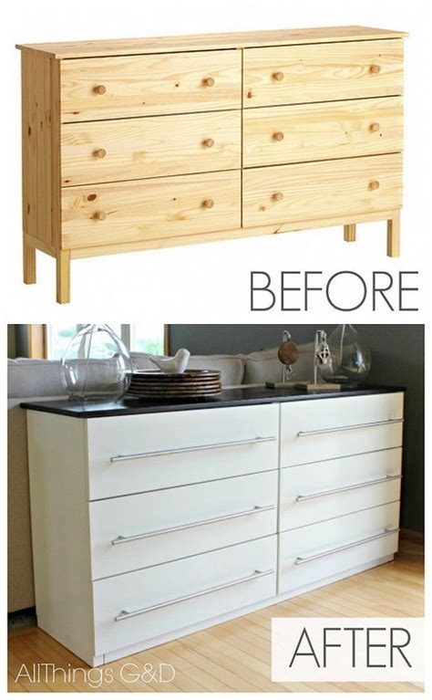 ikea hack dresser ikea tarva dresser transformed into a kitchen sideboard