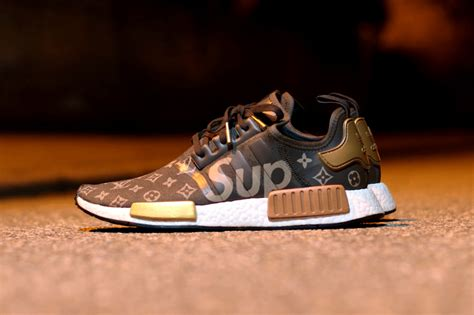 Adidas Nmd Lv X Supreme what a supreme x louis vuitton x adidas nmd r1 collaboration might look like hypebeast