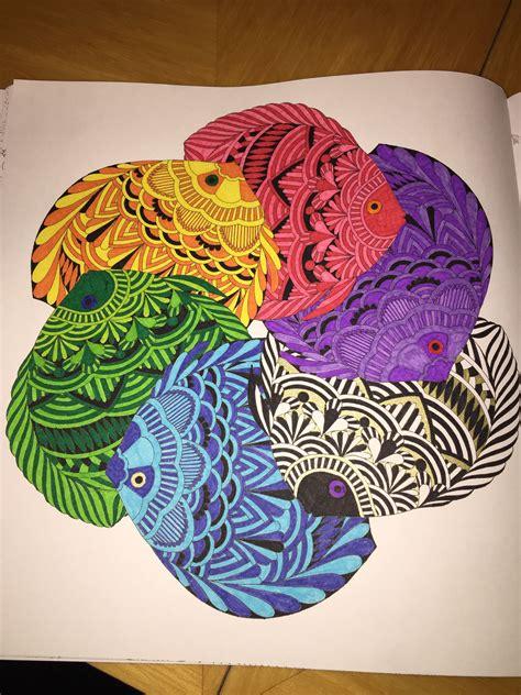 libro millie marottas tropical wonderland millie marotta fish tropical wonderland colouring