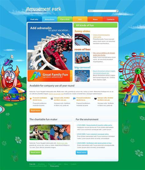 theme park questionnaire amusement park website template 25455