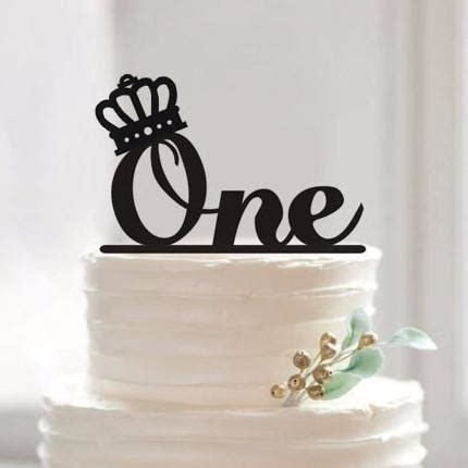 Cake Topper (One Year Old First Birthday /Baby Shower /1st