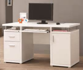 Computer Desk In White White Office Desk With Storage File Cabinet