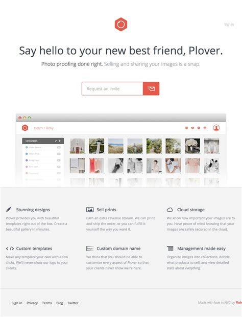Plover Landing 9 best landing page design images on coming