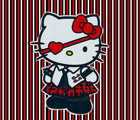 wallpaper hello kitty punk gothic hello kitty red picture and wallpaper hello kitty