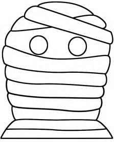 mummy template best photos of mummy outline template mummy cut out