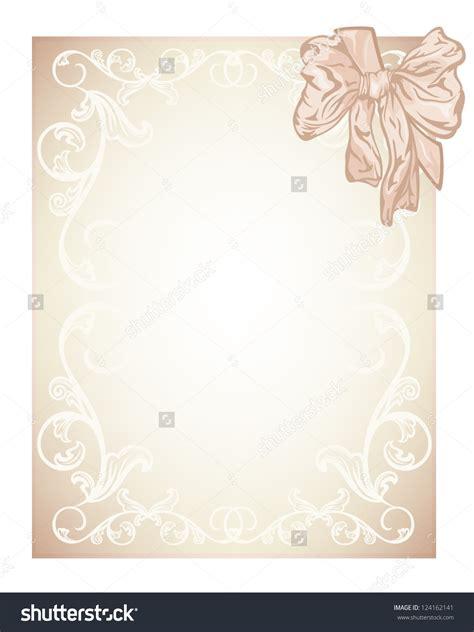 Wedding Card Design Blank by Blank Wedding Invitation Designs Blank Wedding