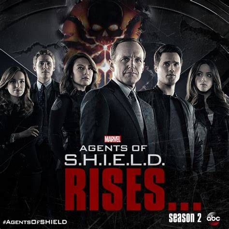 marvel agents of shield season 2 agents of s h i e l d releases season two teaser poster