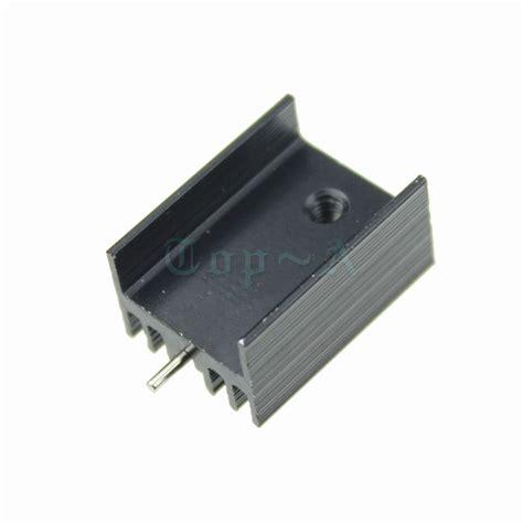heatsink transistor aliexpress buy 10pcs aluminium to 220 heatsink to 220 heat sink transistor radiator to220