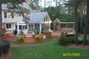 deck with sunroom multi level deck sunroom from creative design builders