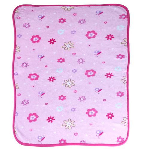 jual selimut bayi motif bunga baby ananta