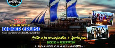 bali pirate dinner cruise bali  paradise