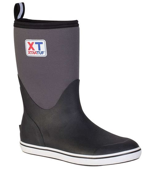 Deck Boots Fishing by Xtratuf 22603 Neoprene Deck Boot 12in Tackledirect