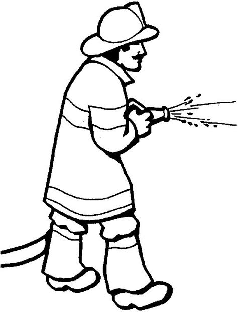 fireman hat coloring pages clipart best clipart best