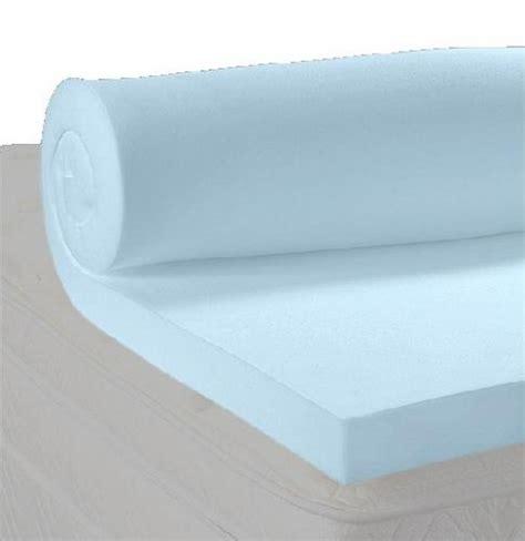 5 lb density memory foam mattress topper 2 inches thick