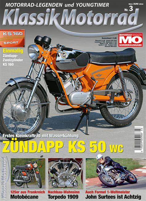 Classic Motorrad Zeitschrift by Klassik Motorrad 2014 3 Motorrad Magazin Mo