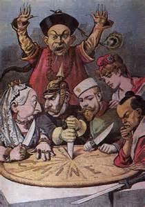 mongole kuchen analyse zur karikatur geschichte imperialismus karikatur