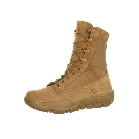 rocky tactical boot lightweight commercial coyote
