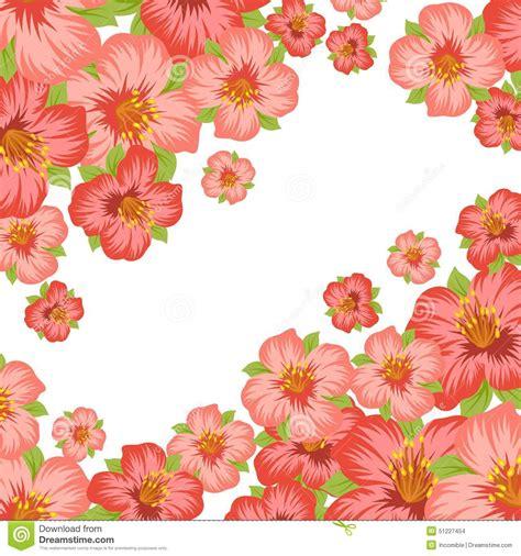 imagenes muy bonitas para fondos fondo o tarjeta con las flores estilizadas bonitas