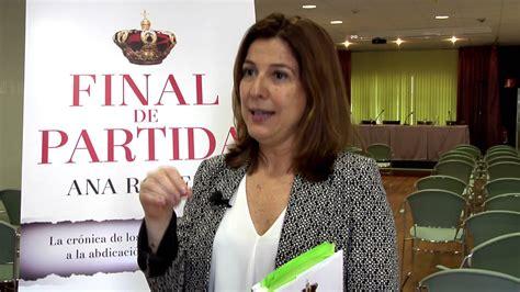libro final de partida la entrevista a ana romero autora del libro final de partida libertad digital
